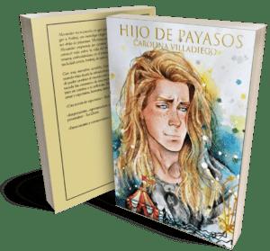 Portada de Hijo de Payasos ilustrada por Eveew Maturano y diseñada por Ojos de Lince.
