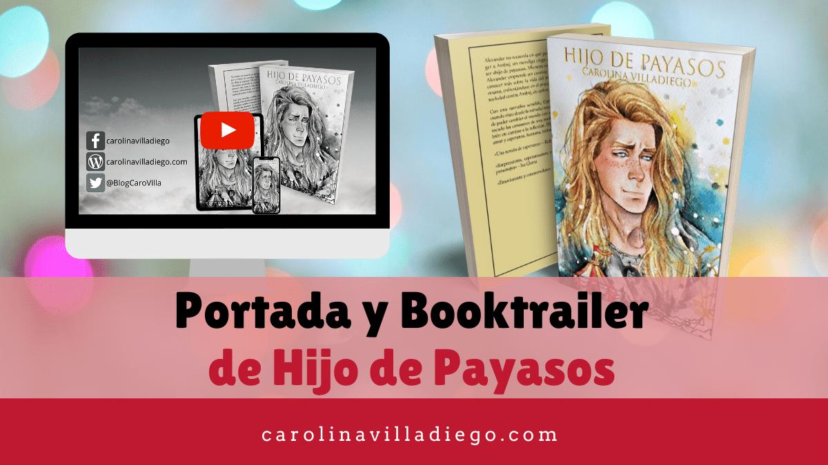 Nuevo booktrailer y portada de Hijo de Payasos