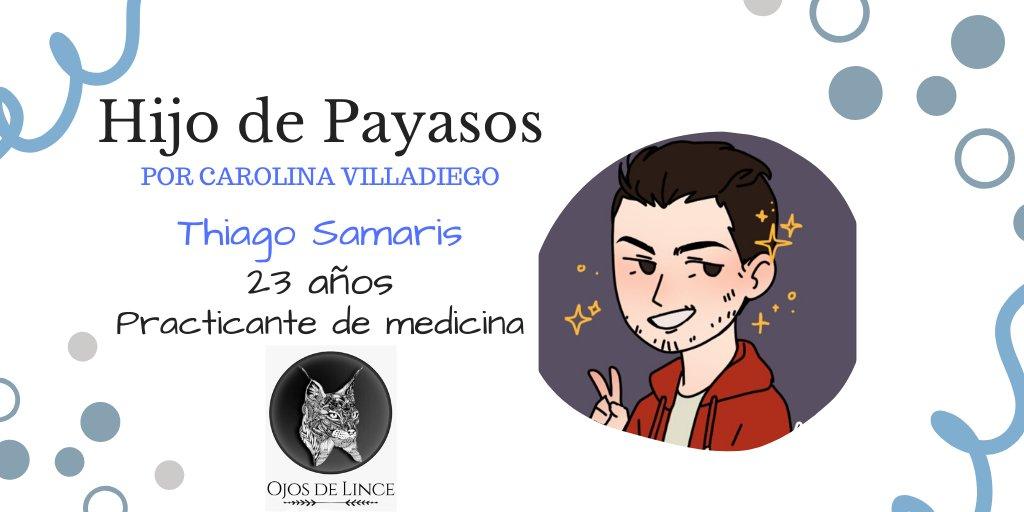 Thiago Samaris, personaje de Hijo de payasos