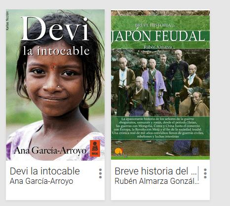 Dos libros que podemos usar para documentarnos: una no ficción realista y un libro de historia